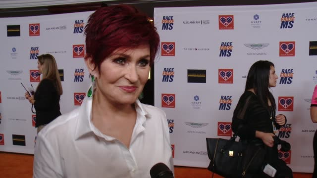 INTERVIEW Sharon Osbourne on what the night represents for her family what she would want people to know or understand about MS at The 22nd Annual...