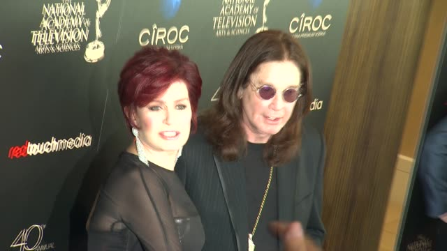 Sharon Osbourne Ozzy Osbourne at The 40th Annual Daytime Emmy Awards on 6/16/13 in Los Angeles CA