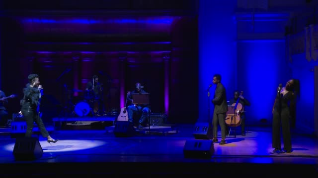 performance sharon rose sings don't upset the rhythm at 'turn up london' at cadogan hall during 'turn up london' at cadogan hall on june 29 2020 in... - distraught stock videos & royalty-free footage