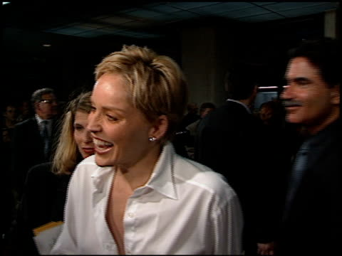 Sharon Stone at the Premiere of 'The Mighty' at Cineplex Odeon in Century City California on October 7 1998