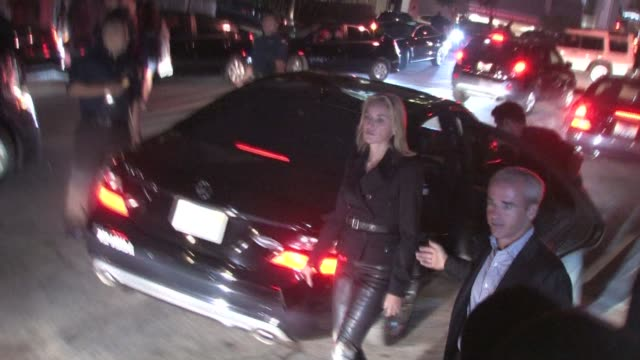 stockvideo's en b-roll-footage met sharon stone leaving the 2010 entertainment weekly and women in film pre emmy party at the celebrity sightings in los angeles at los angeles ca. - pre emmy party