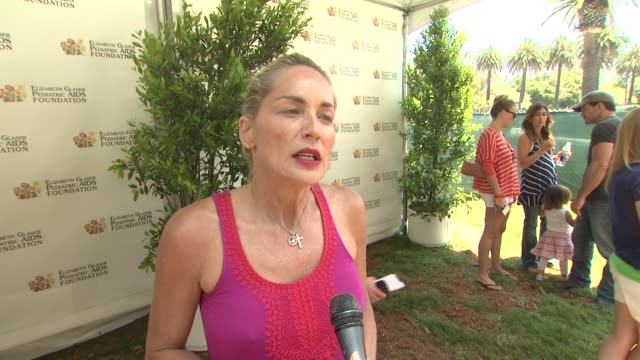 Sharon Stone on the event at 23rd Annual 'A Time For Heroes' Celebrity Picnic Benefiting The Elizabeth Glaser Pediatric AIDS Foundation on June 03...