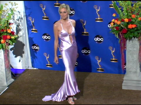 Sharon Stone presenter of Outstanding Writing for a Drama Series at the 2004 Primetime Emmy Awards press room at the Shrine Auditorium in Los Angeles...