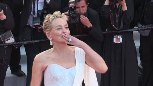 """FRA: Cannes: Stars hit the red carpet for the closing ceremony and screening of """"From Africa with Love"""""""