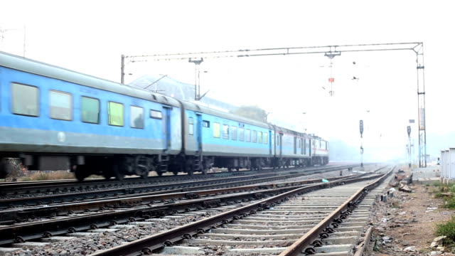 shatabdi express train (indian fastest train), called express train - high speed train stock videos and b-roll footage