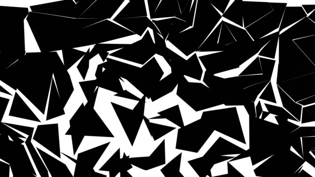 shattered screen transitions - black and white stock videos & royalty-free footage