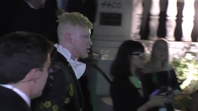 Shaun Ross outside the ERDEM x HM Runway Show Party at The Ebell Club in Los Angeles in Celebrity Sightings in Los Angeles