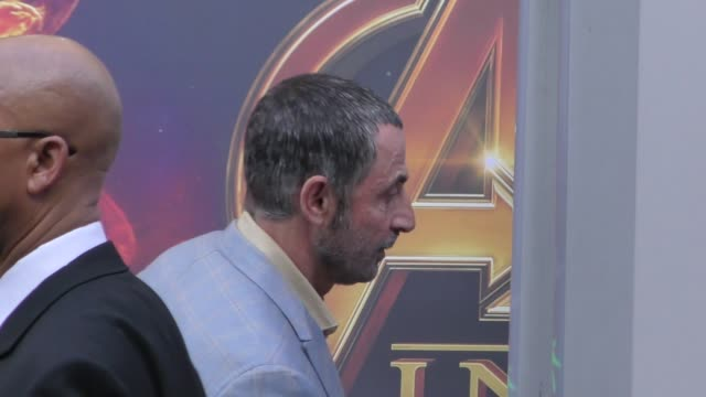Shaun Toub arrives at the premiere of Avengers Infinity War in Hollywood in Celebrity Sightings in Los Angeles