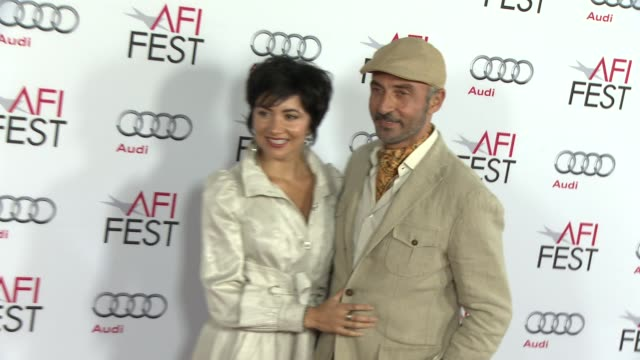 """shaun toub at afi fest 2014 presented by audi gala screening of """"the gambler"""" at dolby theatre on november 10, 2014 in hollywood, california. - the dolby theatre stock videos & royalty-free footage"""