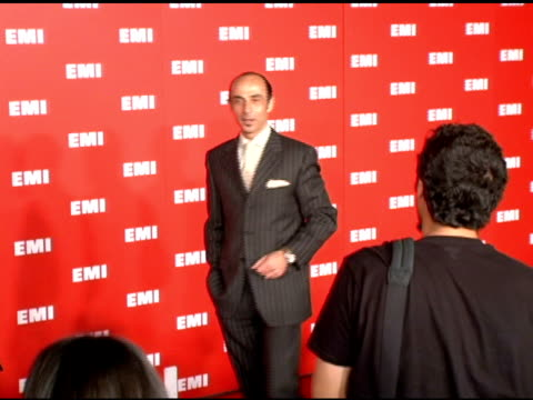 shaun toub at the emi post-grammy party on february 8, 2006. - emi grammy party stock videos & royalty-free footage