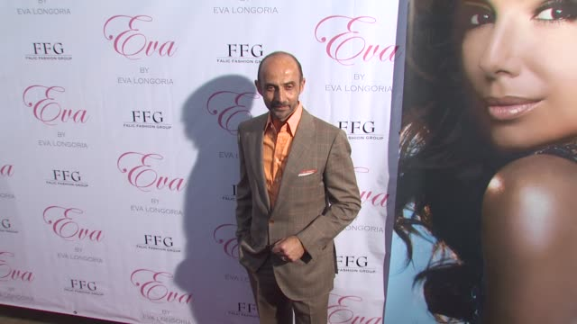 Shaun Toub at the Eva Longoria Parker Fragrance Launch Party For 'Eva' at Hollywood CA