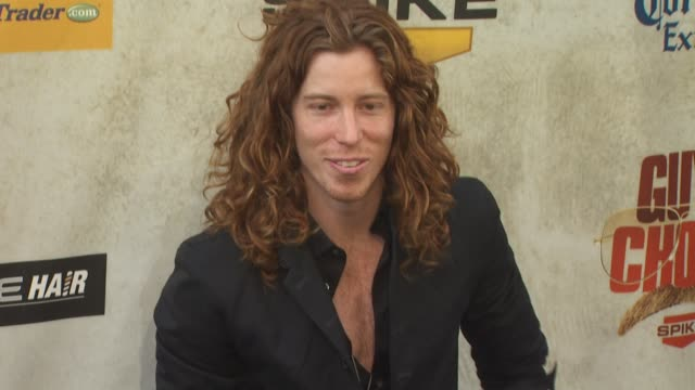 shaun white at the spike tv's 4th annual 'guys choice awards' at los angeles ca - spike guys choice awards video stock e b–roll