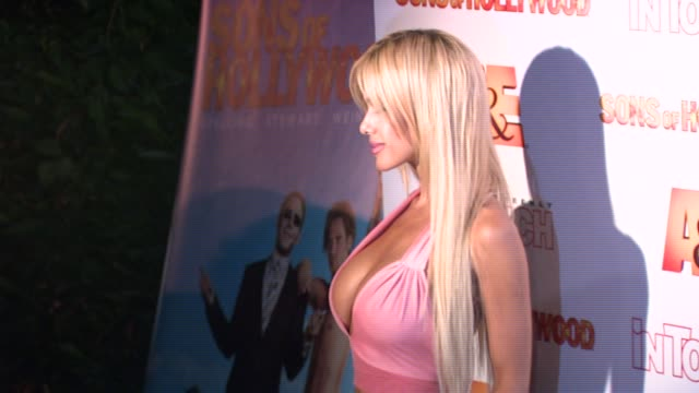 Shauna Sands At The Sons Of Hollywood Premiere Launch Party At Les Deux In
