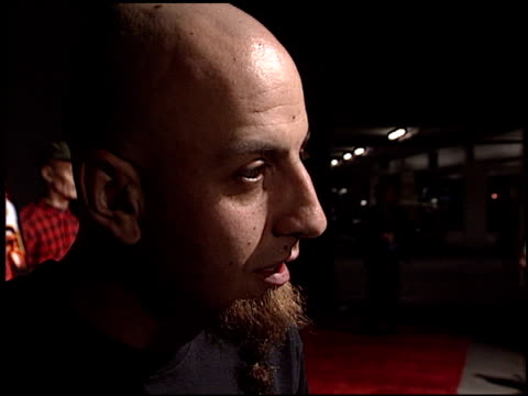 shavo odadjian at the 'house of 1000 corpses' premiere at arclight cinemas in hollywood california on april 9 2003 - arclight cinemas hollywood video stock e b–roll