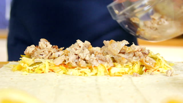 shawarma - wrapped stock videos & royalty-free footage