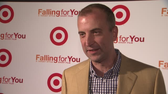 shawn gensch svp marketing target explains how falling for you is a romantic comedy at target falling for you event at terminal 5 on october 10 2012... - romantic comedy stock videos and b-roll footage
