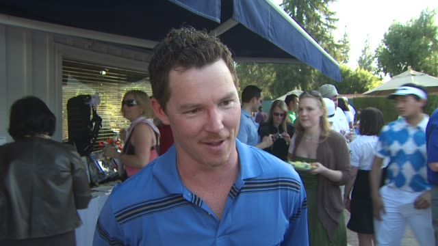 Shawn Hatosy on being a part of the event what he appreciates about George Lopez's philanthropic efforts how he played today Southland's second...
