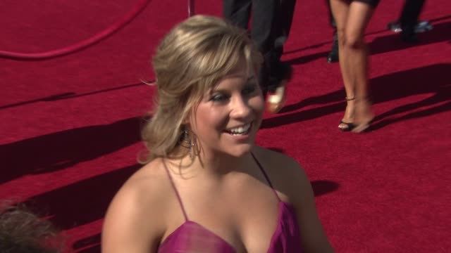 vídeos de stock, filmes e b-roll de shawn johnson at the 17th annual espys arrivals at los angeles ca - espy awards