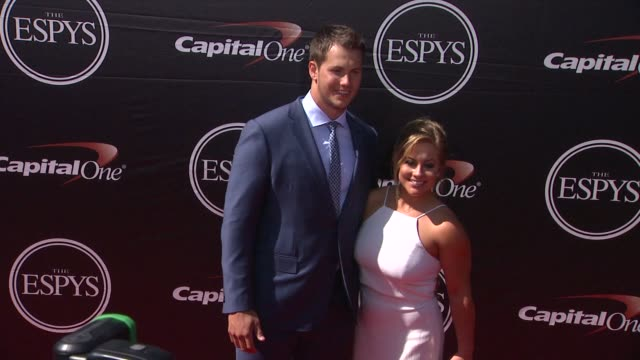 shawn johnson at the 2015 espys at microsoft theater on july 15 2015 in los angeles california - microsoft theater los angeles stock videos and b-roll footage