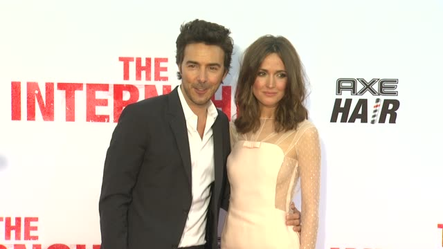 shawn levy rose byrne at the internship los angeles premiere on 5/29/2013 in westwood ca - rose byrne stock videos and b-roll footage