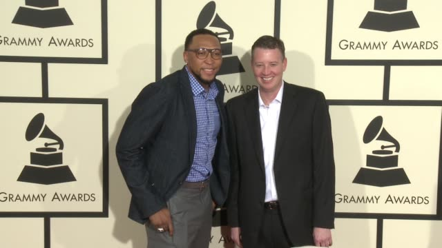 stockvideo's en b-roll-footage met shawn marion at 58th annual grammy awards® arrivals at staples center on february 15 2016 in los angeles california - 58e grammy awards