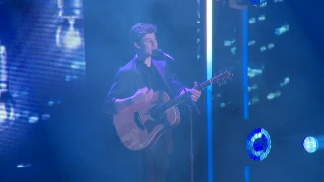 shawn mendes at we day uk at wembley arena on march 5, 2015 in london, united kingdom - performing arts event stock videos & royalty-free footage