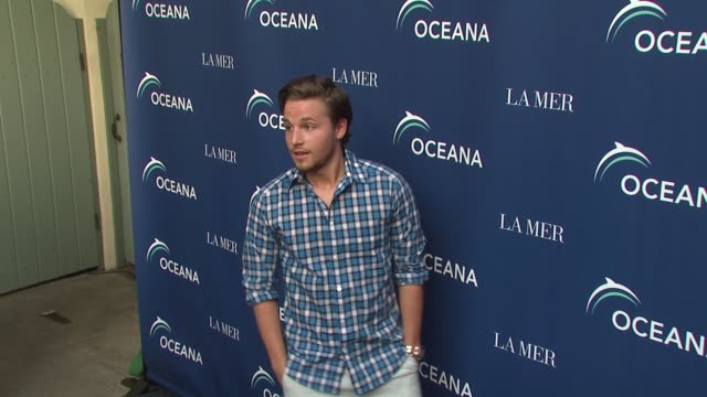 shawn pyfrom at the oceana la mer celebrates world oceans day at los angeles ca - oceana stock videos & royalty-free footage