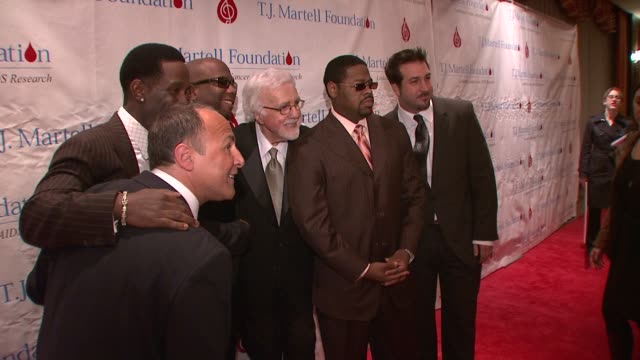 shawn stockman tony martell wanya morris nathan morris and joey fatone and guest at the 33rd annual tj martell foundation awards gala at new york ny - joey fatone stock videos & royalty-free footage