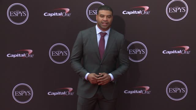 Shawne Merriman at The 2018 ESPYS at Microsoft Theater on July 18 2018 in Los Angeles California