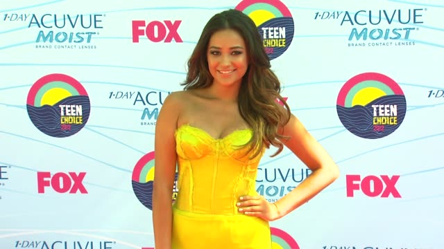 Shay Mitchell at 2012 Teen Choice Awards on 7/22/12 in Los Angeles CA