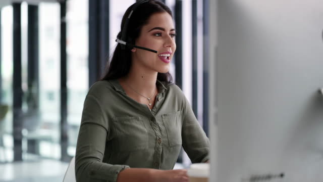 she always goes beyond for her customers - call center stock videos & royalty-free footage