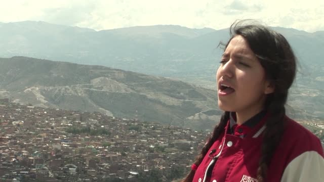 she became an overnight sensation after posting a youtube video of herself singing a michael jackson hit in quechua now renata flores wants to use... - michael jackson stock videos and b-roll footage