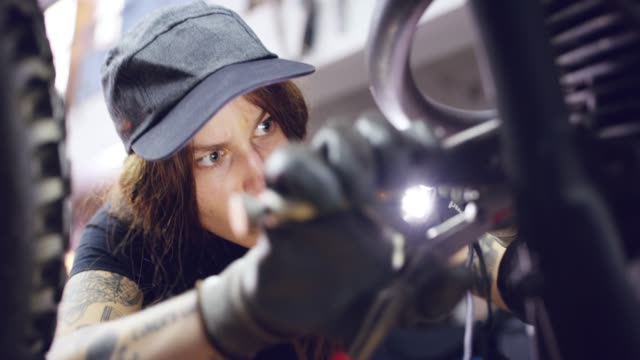 she can fix anything - technician stock videos & royalty-free footage