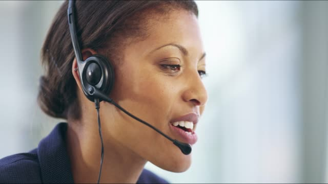 she can help - call center stock videos & royalty-free footage