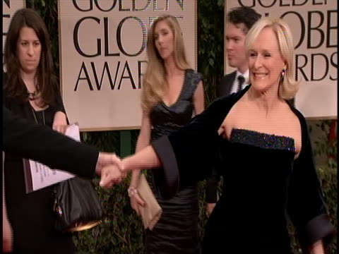 globes she is wearing a black strapless gown and shawl - shawl stock videos & royalty-free footage