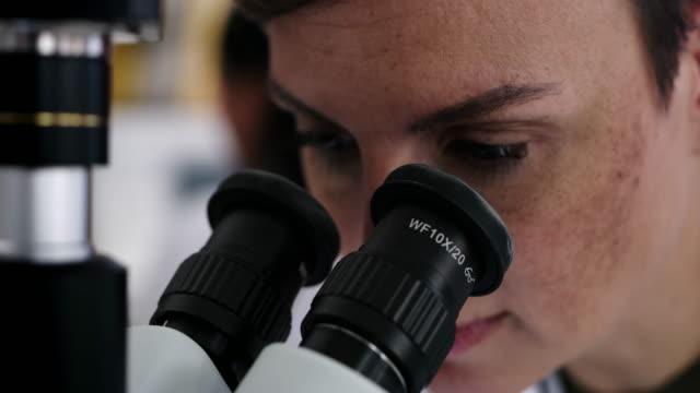 vídeos y material grabado en eventos de stock de ella puede estar a una vista más de la cura - patólogo