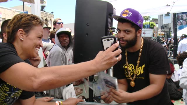 O'Shea Jackson Jr at ICE CUBE HONORED WITH STAR ON THE HOLLYWOOD WALK OF FAME on June 12 2017 in Hollywood California
