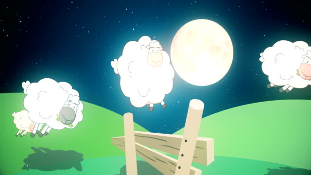 sheep jumping over a fence - 4k - sheep stock videos & royalty-free footage