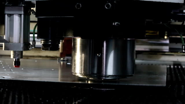 sheet metal stamping - seal stamp stock videos and b-roll footage