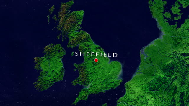 sheffield zoom in - sheffield stock videos & royalty-free footage
