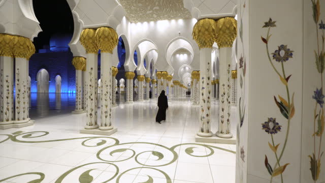 Sheikh Zayed Bin Sultan Al Nahyan Mosque, Abu Dhabi, United Arab Emirates, UAE