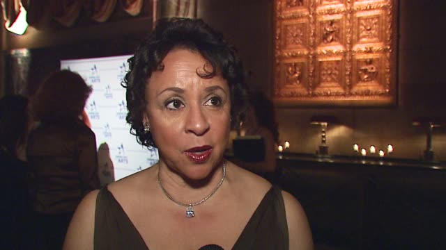 Sheila C Johnson/ Honoree Frederick R Weisman Award for Philanthopy in the Arts Mrs Johnson wears Bob Mackey She talks about the importance of...
