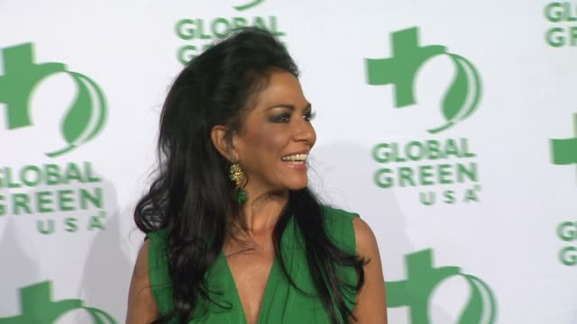 vídeos y material grabado en eventos de stock de sheila e at global green usa's 9th annual preoscar party on 2/21/12 in hollywood ca - oscar party