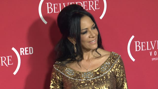 vídeos de stock, filmes e b-roll de sheila e at red special edition party with exclusive performance by mary j blige on 2/10/2012 in hollywood ca - sheila e