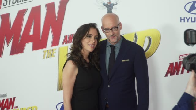 Sheila Reid and Peyton Reed at the AntMan and the Wasp World Premiere at the El Capitan Theatre on June 25 2018 in Hollywood California