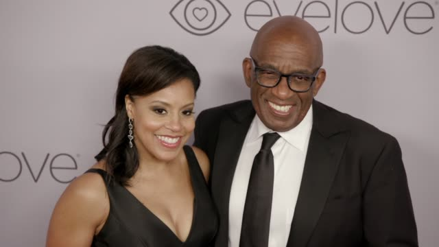 Sheinelle Jones and Al Roker at the Warner Bros Pictures and InStyle Host 19th Annual PostGolden Globes Party at The Beverly Hilton Hotel on January...