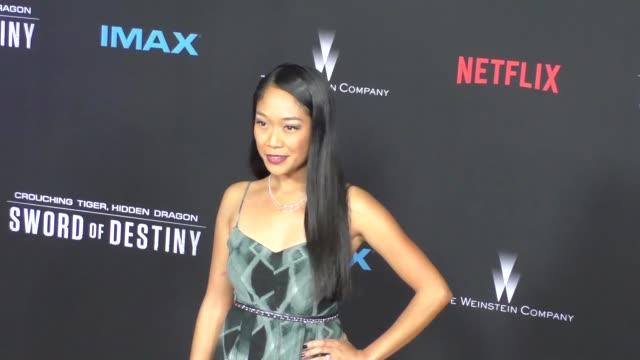 Shelby Rabara at the Premiere Of Netflix's Crouching Tiger Hidden Dragon Sword Of Destiny at AMC Universal CityWalk Theatre in Hollywood in Celebrity...