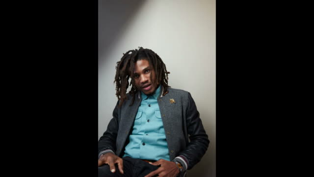 sheldon shepherd from the film 'yardie' poses for a portrait in the youtube x getty images portrait studio on january 19 2018 in park city utah - park city utah video stock e b–roll