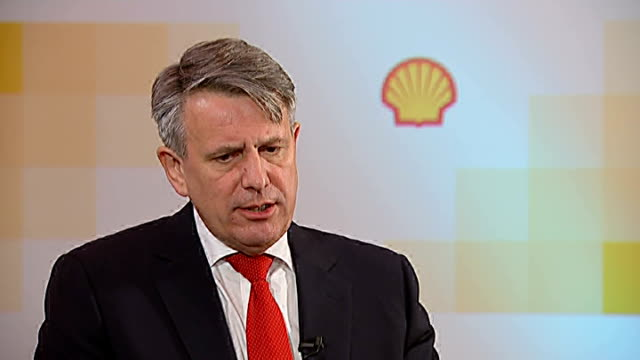 shell oil to resume arctic drilling england london int ben van beurden interview sot we are obsessed with doing this to the levels of safety that we... - safety stock videos & royalty-free footage