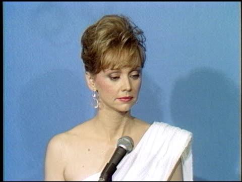 Shelley Long at the 1986 Emmy Awards at the Pasadena Civic Auditorium in Pasadena California on September 21 1986